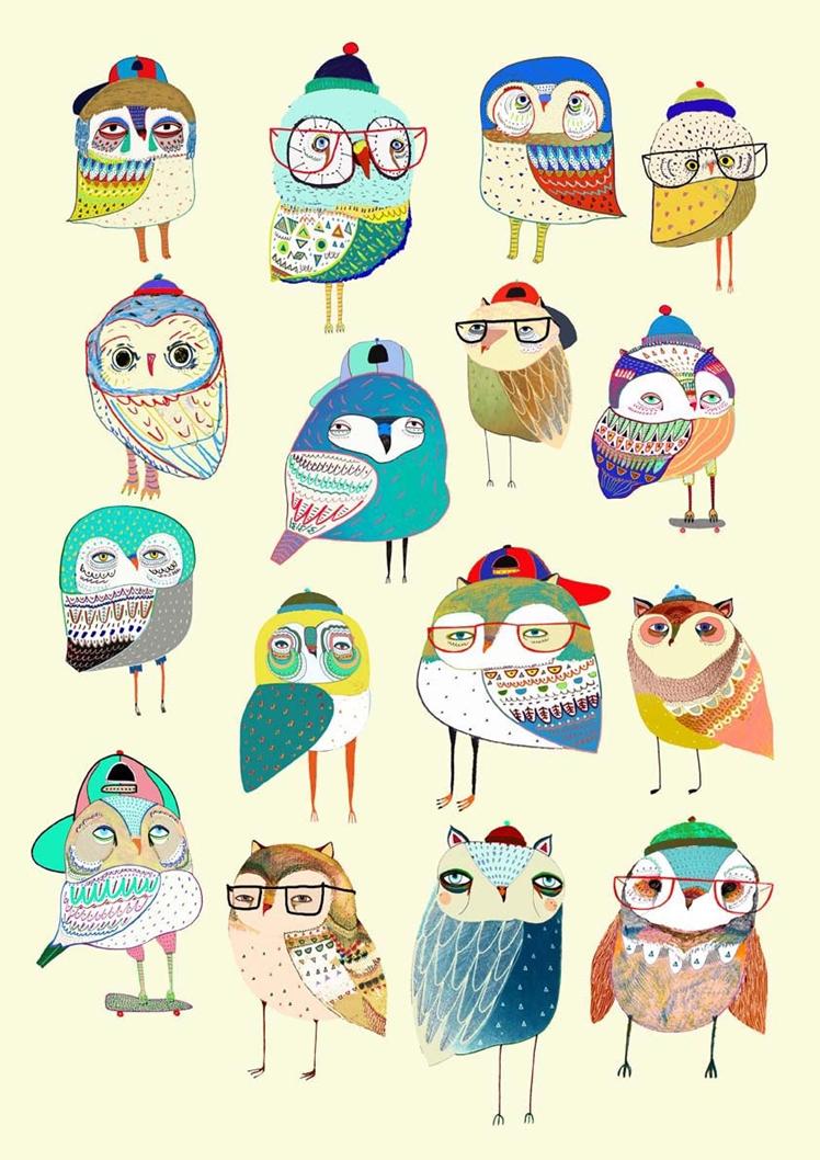 Wall Decor Owl Party | Ashley Percival