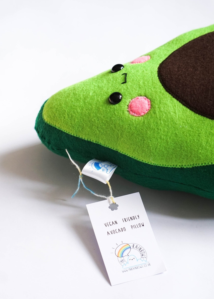 Baby Avocado Pillow | In Rainbows Becco