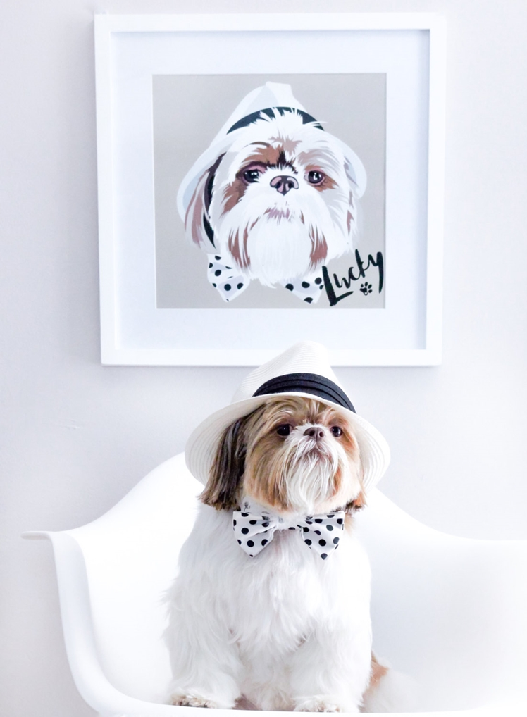 Custom Pet Portrait | Barley and Bayley