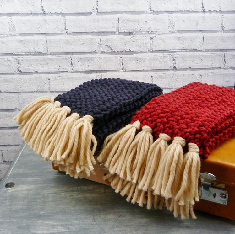 Merino Wool Chunky Knit Scarf | Moaning Minnie