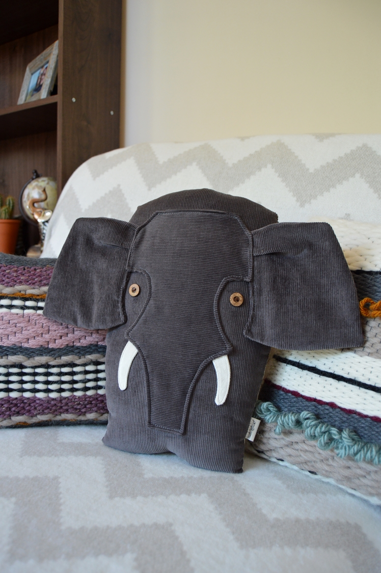 Elephant Pillow | Midgins'