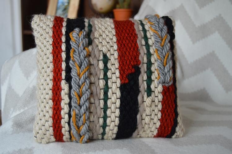 Woven Autumnal Pillow | Midgins'