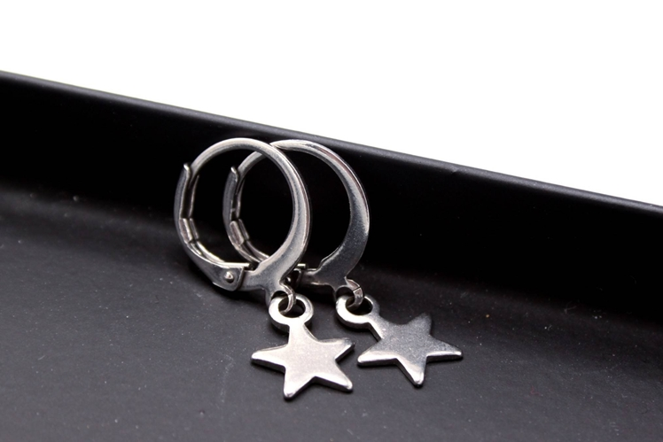 Star Hoop Earrings | Uniekje