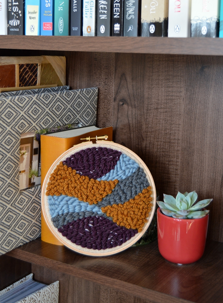 Punch Needle Embroidery Hoops   Midgins'