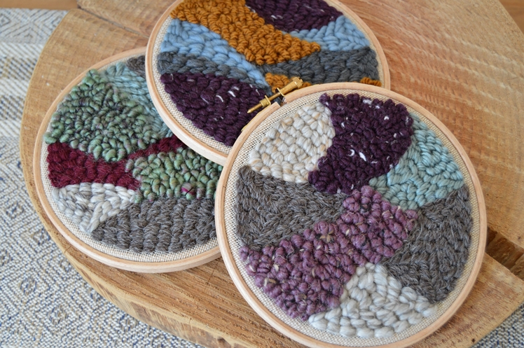 Punch Needle Embroidery Hoops | Midgins'